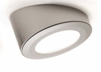 DOMUS Line™ Angled Spacer for Smally LED Spotlight: Available in Aluminium, Satin Nickel and Chrome Finishes. Image: 7