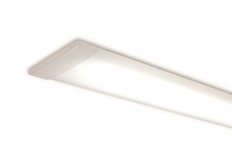 Icy LED Lighting Profile. Aluminium Finish. Recessed Installation: Ideal for under shelf and inside cabinet installation. Image: 9