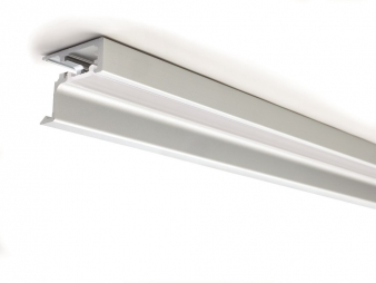 Skyline LED Master & Profile - Profile Detail. Designed for milled groove installation under handleless wall cabinets. Image: 21