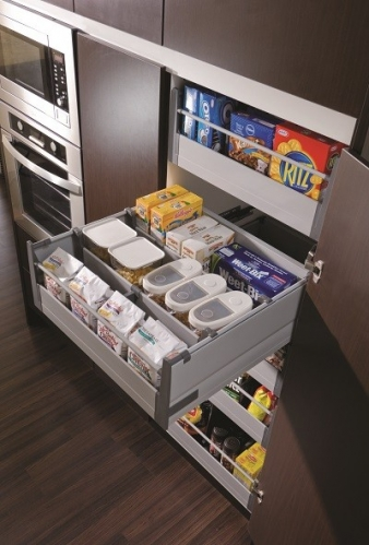 Harn Triomax Drawers Form An Awesome Soft Close Pull Out Pantry System. Image: 6