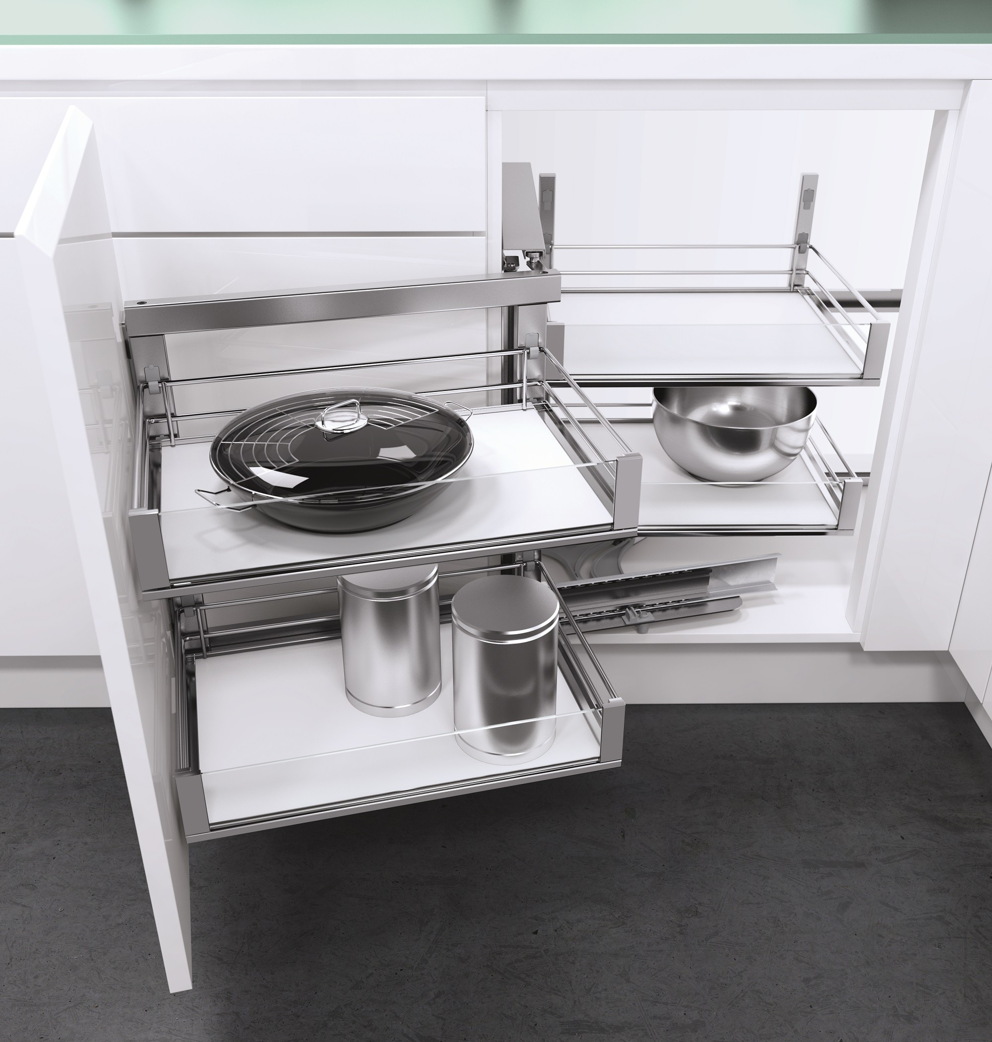 Kitchen Storage Space Hassles? Turn the Corner with Vauth-Sagel