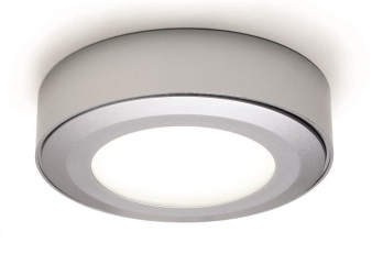 DOMUS Line™ Straight Spacer for Smally LED Spotlight: Available in Aluminium, Satin Nickel and Chrome Finishes. Image: 4