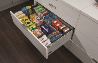 Harn Triomax Soft Close Drawers: Ideal Grocery Storage. Image: 3