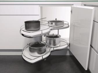 Vauth-Sagel's Twin Corner Unit for Blind Corner Cabinets. Image: 13