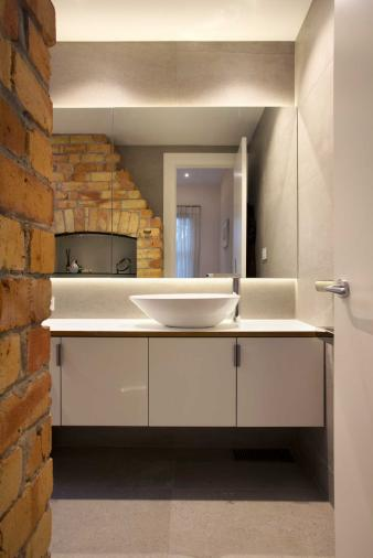 Cabinet Storeage in renovated bathroom. Image: 19