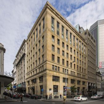 Exterior Facade, Old south British Building. Image: 8