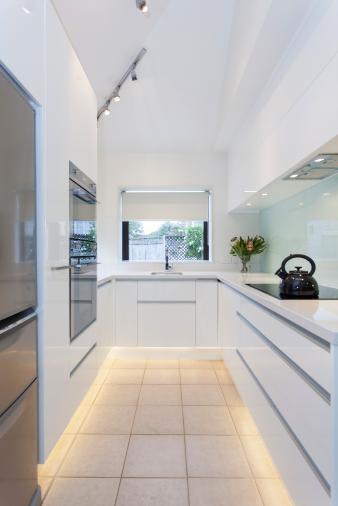 White Small Space Kitchen. Image: 10