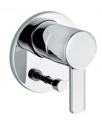 Zenta Chrome Diverter Shower Mixer. Image: 10
