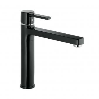 Zenta Black Sink Mixer. Image: 15