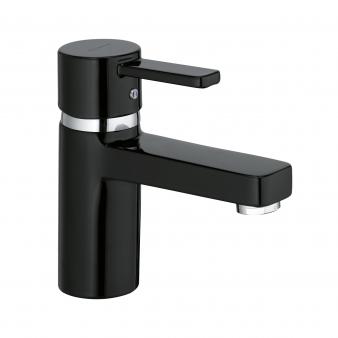 Zenta Black Basin Mixer. Image: 9