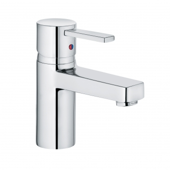 Zenta Chrome Basin Mixer . Image: 6