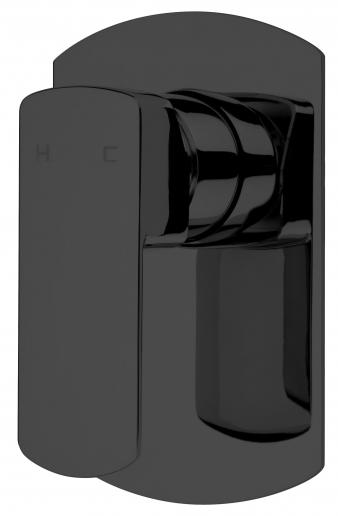 Sprint Black Shower Mixer SBK030. Image: 5