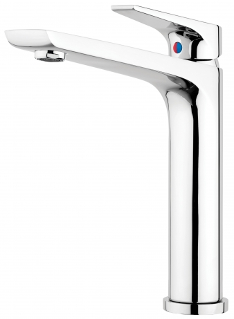 Solitaire Chrome Sink Mixer. Image: 6