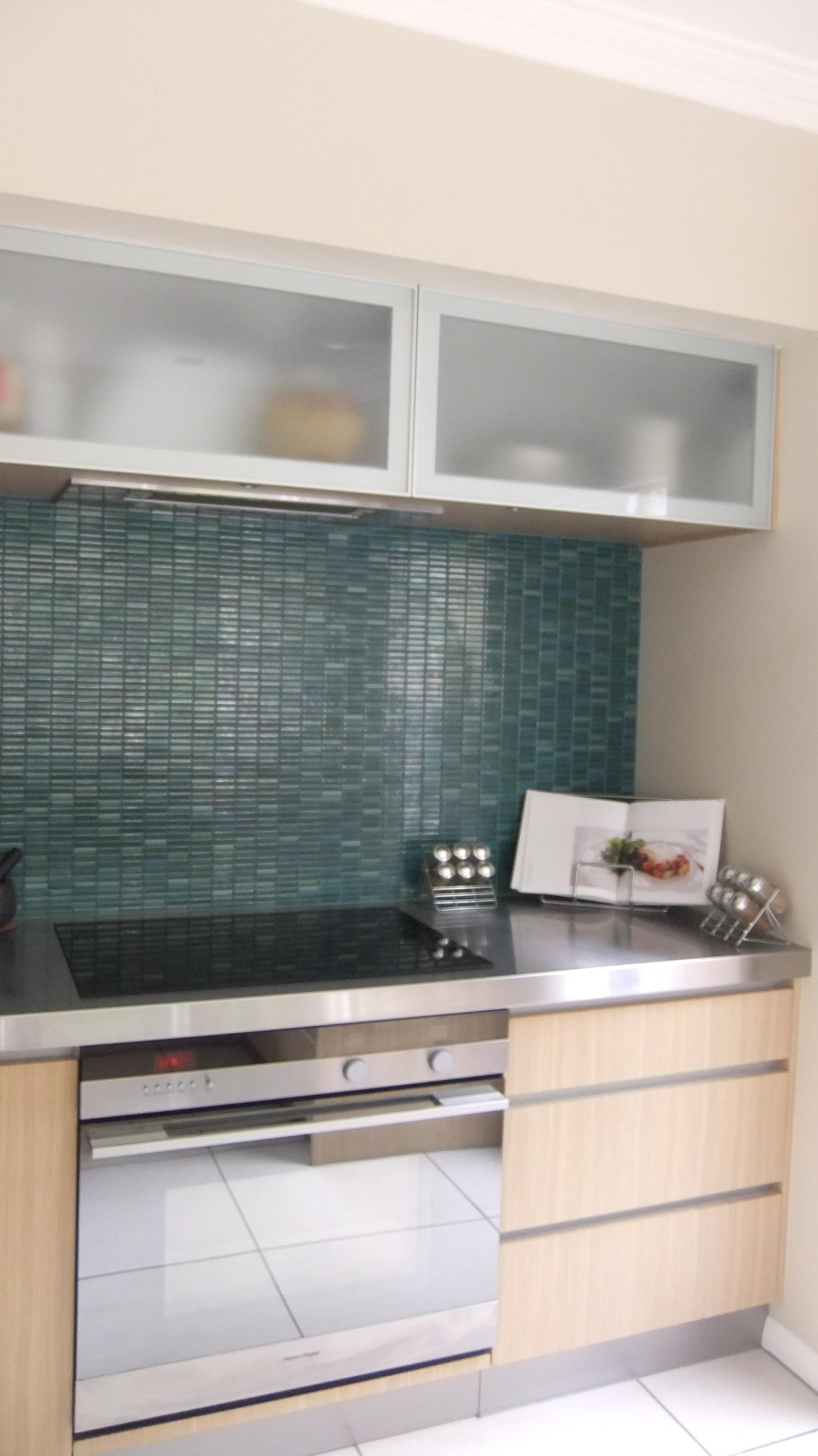 Turquoise Kitchen Splashback