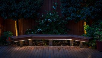 Bench seat lighting. Image: 18