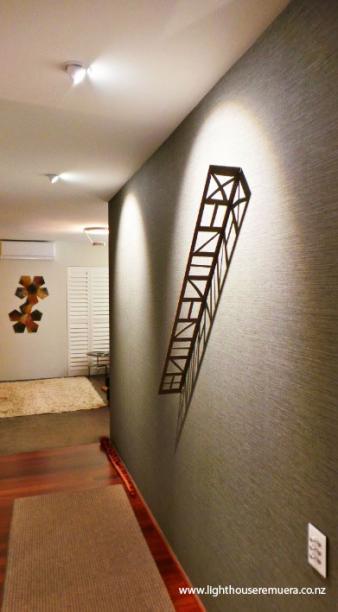 Hallway lighting design by Kane McHugh. Image: 30