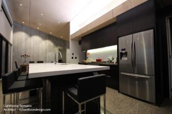Kitchen lighting design by Mike Renwick. Image: 36