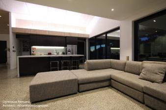 Living room lighting design by Mike Renwick. Image: 37