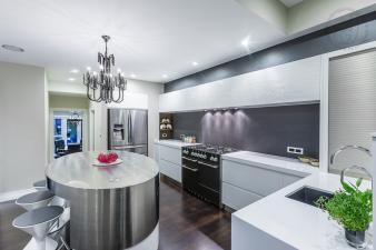 Sleek Kitchen. Image: 4