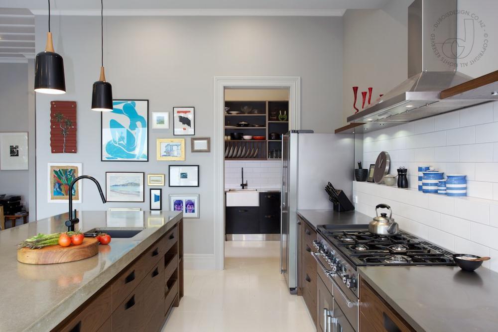 Rustic Kitchen by Du Bois Design