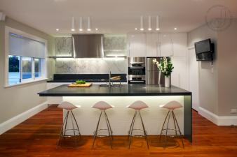 Contemporary Kitchen. Image: 2