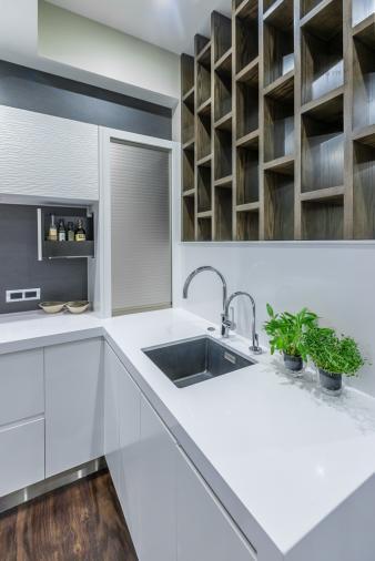 Sleek Kitchen. Image: 3