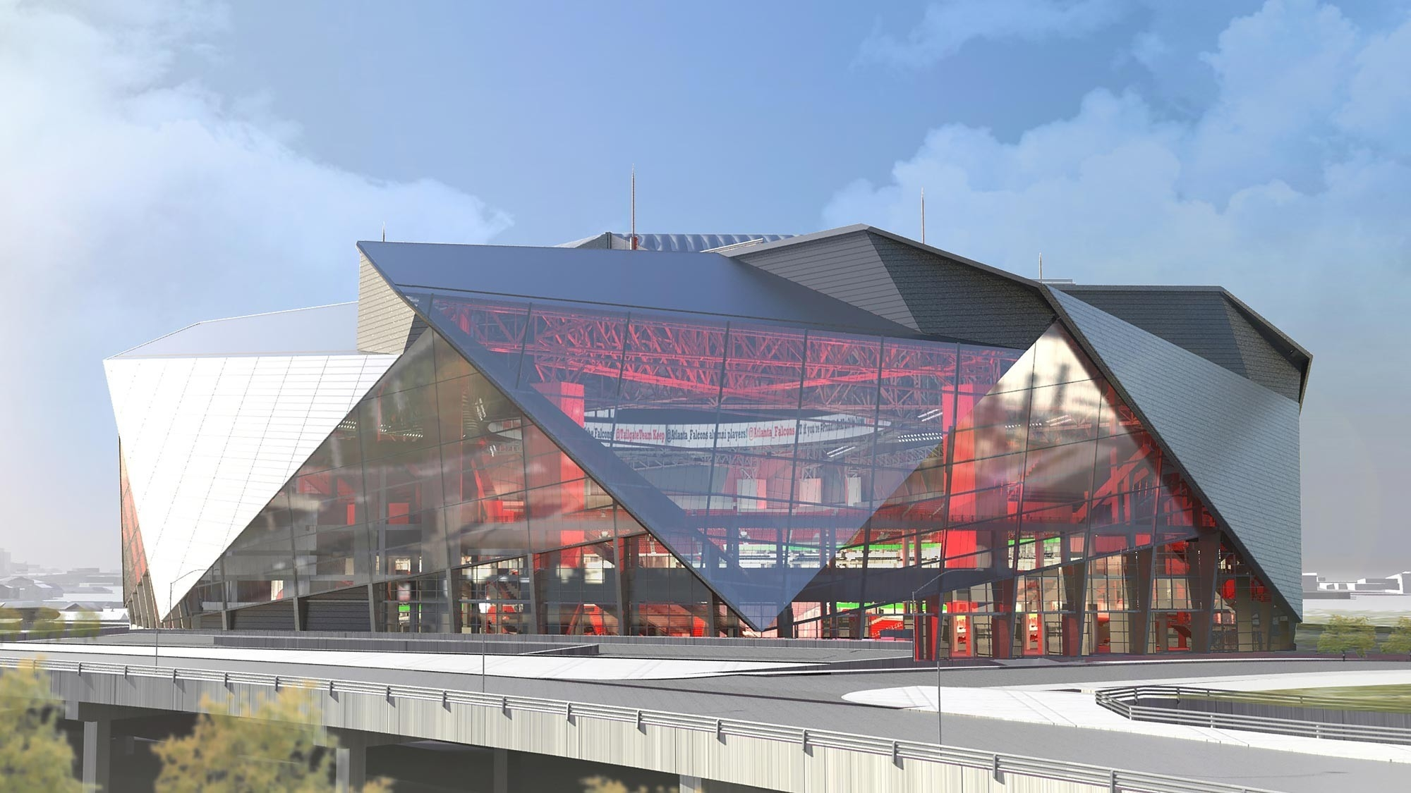 Mercedes Benz Retractable Roof Stadium