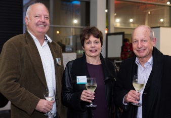 Chris Roux, Pauline Stockwell, Dean Stockwell. Image: 12