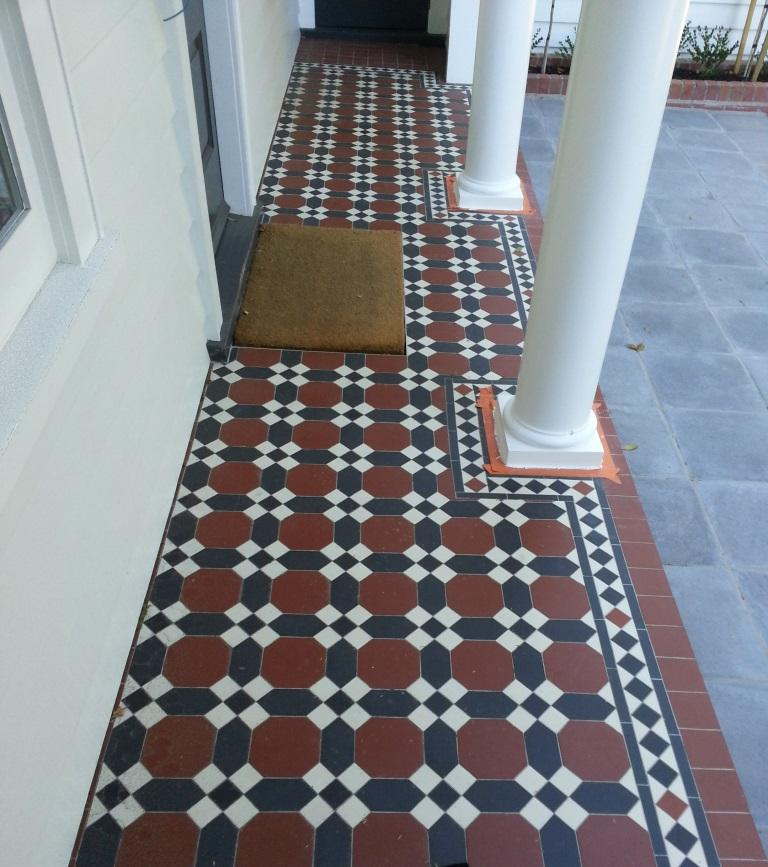 Tessellated Old English Tiles