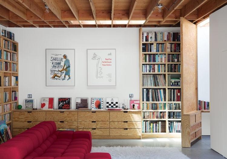 garage living room