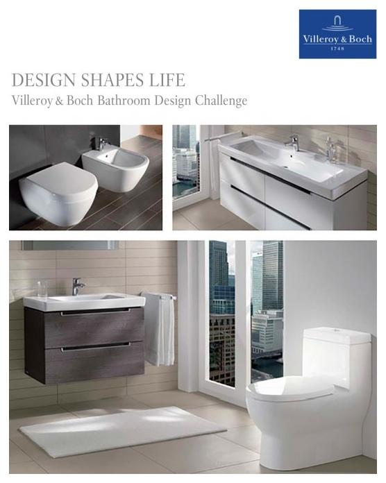 Villeroy Boch Presents Bathroom Design Challenge