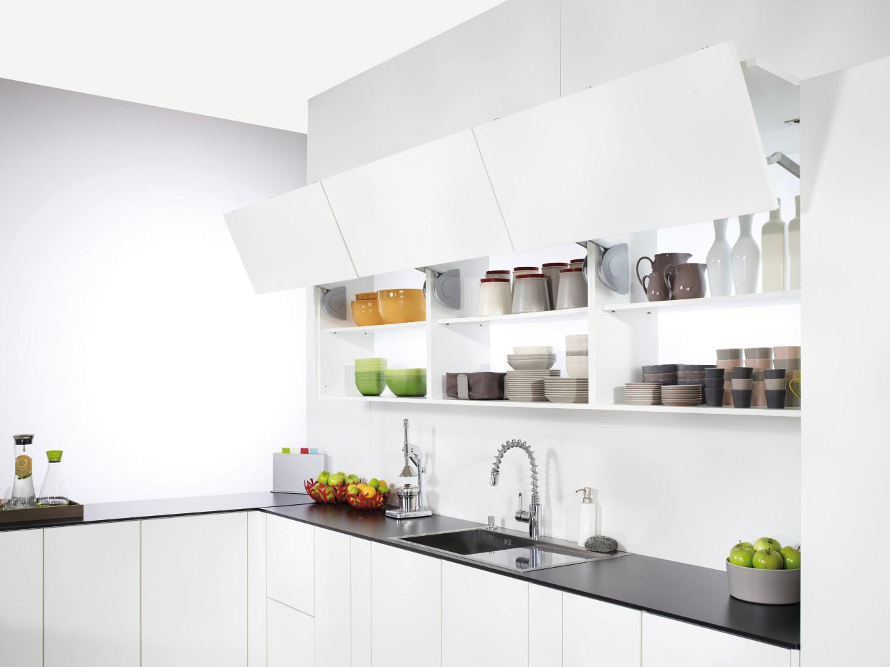 overhead kitchen storage